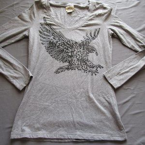 Ariat Studded Eagle Freedom Shirt / Top Sz M